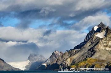 Navigation dans le Drygalski fjord