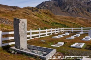 Tombe de Sir Ernest Shackleton
