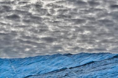 Contraste en ciel et glace