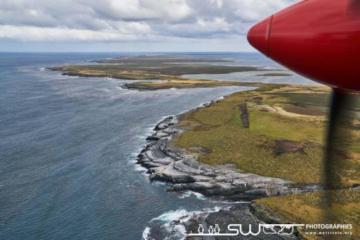 Survol des îles - Îles Malouines